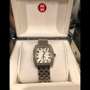 Michele Urban diamond watch